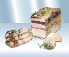 Bauchspeck Sibirskoje mit Knoblauch ca 250-300g Salo Fleisch Fleischprodukte
