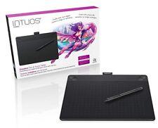 NEW! Wacom Intuos COMIC Medium BLACK Pen & Touch Digital Graphic Tablet PC & Mac