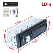 Bluetooth Car In-Dash Stereo Radio MP3 Player FM/Audio/USB/TF/AUX Handsfree 1Din