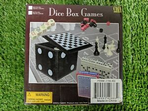 Dice Box Games For Home Use