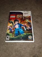 LEGO Harry Potter: Years 5-7 (Nintendo Wii) Complete CIB Manual EVG FAST SHIPPED