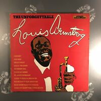 LOUIS ARMSTRONG - The Unforgettable • Vinyl LP Record • MER604 • EX-/EX-