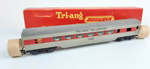 TRIANG R324 SILVER/RED DINER 1960/1961 *RARE VERSION* EXCELLENT BOXED OO(WT)
