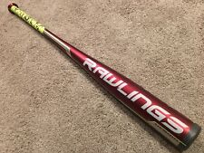Rawlings VELO Hybrid BBCOR Baseball Bat ~ 34/31 w/ New Camo Lizard Skins Grip