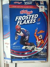 New listing Kellogg's Frosted Flakes Cereal Box Mike Schultz 2018 Us Snowboarding Paralympic