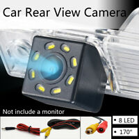 Car Reversing Rear View Camera HD Parking Backup Night Vision 170° Waterproof