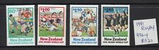 New Zealand: 1991 Rugby World Cup set of 4 stamps. L/Jury 976-979. Retail $11.20