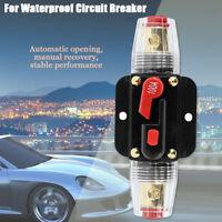 100A AMP Circuit Breaker Battery IP67 Waterproof 12V 24V Fuse Manual Reset HMDUO