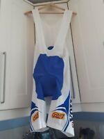 VINTAGE Ellegi Sport VOLVO Cycle Bib Shorts - Size -XXL / 6