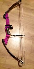 """New listing PSE INFINITY SRL-500 BOW right hand 24.5 """" - 30.5 """" 40-50lbs PURPLE"""