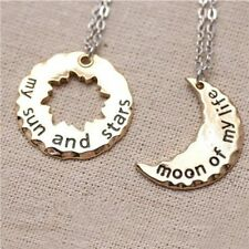 Pair of Game of Thrones necklaces 'My Sun & Stars' and 'Moon of my Life' US