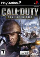 Call of Duty: Finest Hour (Greatest Hits) PS2 New Playstation 2