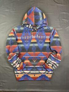 Polo Ralph Lauren Aztec Southwestern Beacon Outdoors Hoodie Sweatshirt XL