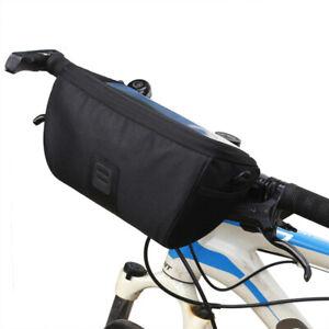 Waterproof Cycling Bicycle Bags Front Basket Phone Bike Handlebar Bag RF