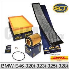 BMW E46 3er Innenraumfilter Pollenfilter Aktivkohle Luftfilter Ölfilter Filter