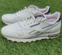 Reebok Classic Trainers Lace Up Shoes Sneakers White Size UK 8 EU 42 US 9