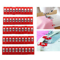 50pcs For Fabric Sewing Clips Binding Multicolor Quilting Clamps Home DIY Crafts