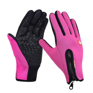 Unisex Gloves Touchscreen Winter Thermal Cycling Ski Outdoor Camping Full Finger