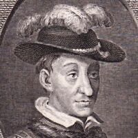 Portrait XVIIIe Charles VII Roi De France Dauphin De Viennois Duc de Luxembourg