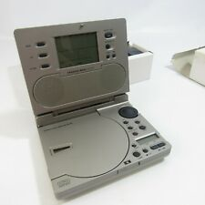 Sharper Image CD Radio Alarm Clock with Sound Soother in Original Box