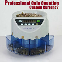 Automatischer Münzzähler Geldzählmaschine Münzzählmaschine Geldzähler