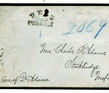 USA Boston Local Post *HELD FOR POSTAGE* Cover DETAINED {samwells-covers}F372a
