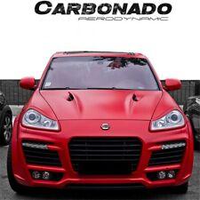 2003-2010 Cayenne TA Style Carbon Fiber Hood Bonnet Body Kit Fit Porsche 955/957