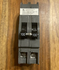 Zinsco Ubiz-2100 Ubiz2100 100 Amp 2 Pole Circuit Breaker Thick Series Pre-owned