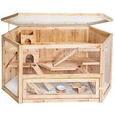 XXL Hamsterkäfig Holz Stall Käfig für Goldhamster
