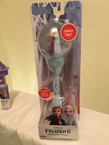 NEW Disney Frozen 2 Sisters Musical Snow Scepter Wand