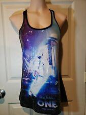 Michael Jackson One Cirque Du Soleil Tank Top Sequin Graphic - Size S