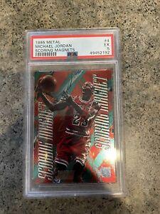 1995 Metal Scoring Magnet Michael Jordan #4 PSA 5 EX