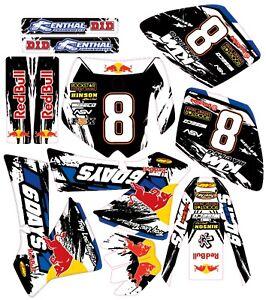 KTM  50 mini adventure / SX Graphics 2002 - 2008 B Motocross MX decals stickers