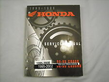 Honda OEM Factory Service Manual 95 96 97 98 99 00 01 02 CR80 CR80R CR80RB