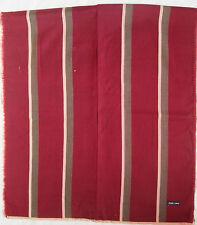 - Echarpe EMPORIO ARMANI soie & laine  vintage Scarf  en TBEG  16 x 90 cm