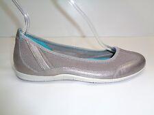 Details about NIB ECCO Vibration Leather Ballerina Flats Sz 35 US 4 4.5