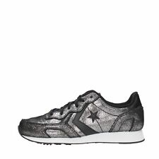 Converse Sneakers 100% pelle Donna Silver/black Auckland racer