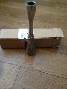 Nkuku - Himba Mango Wood Candlestick - Small