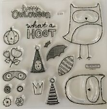 "Close To My Heart - Acrylic Stamps ""S1408 WHAT A HOOT"" BNIP - MY ACRILYX"
