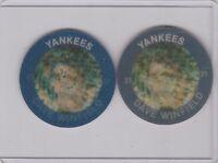 1985 7 - 11 Slurpee Disc  Yankees Dave Winfield Lot of 2
