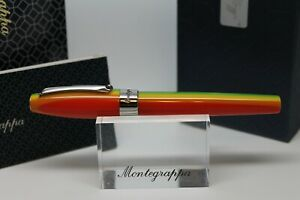 MONTEGRAPPA FORTUNA RAINBOW ROLLERBALL WITH SCARF
