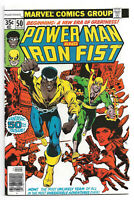 Power Man and & Iron Fist # 50 Marvel Comics 1st Team Up Luke Cage Hero for Hire