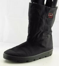 ROMIKA Boots Size 43 M Black Snow Boots Synthetic Men