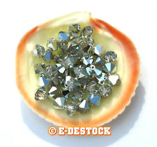 lot 10 Perle Toupie 5mm Cristal Swarovski - CRYSTAL CAL