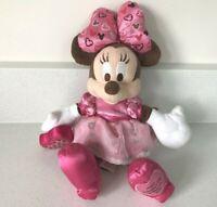 Disneyland Brown Minnie Mouse Walt Disney World Valentines Day 2009 23cm