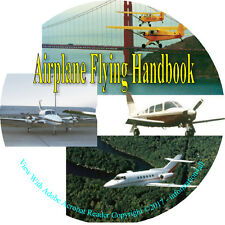Airplane Flying Handbook, Flight, Airport, Pilot, How to Fly, Aviation – Book CD