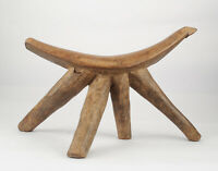 Antique African Dinka Headrest Old South Sudan African Art carving