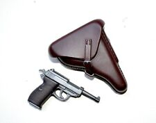 1/6 SCALE DRAGON GERMAN WWII - PISTOL WP38 W/ BROWN HOLSTER