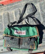 Wood River Fly Fishing Belt Shoulder Tackle Bag Used Great Shape!