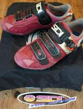 SIDI Dominator 5 WOMENS Mountain Bike Shoes RED Size EU 39 US 7